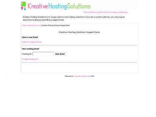 Kreative Hosting Solutions