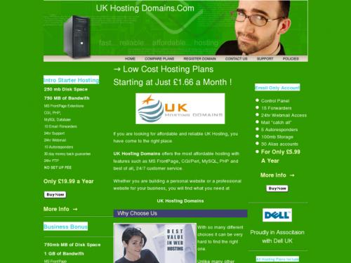 UK Hosting Domains