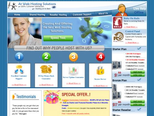A1 Web Hosting Solutions