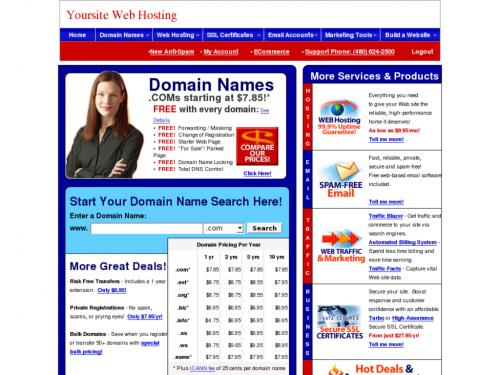 Yoursite Web Hosting