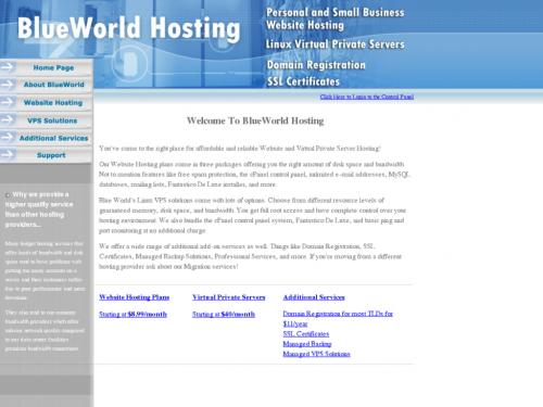 BlueWorld Hosting