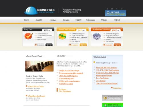 About bounce rate. A bounce is a single-page session on your site. In Analytics, a bounce is calculated specifically as a session that triggers only a single request to the Analytics server, such as when a user opens a single page on your site and then exits without triggering any other requests to the Analytics server during that session.