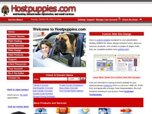 Hostpuppies.com