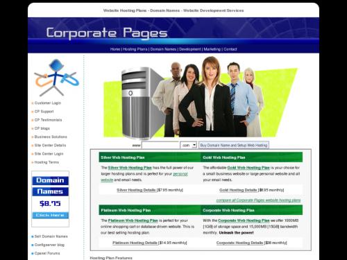 Corporate Pages