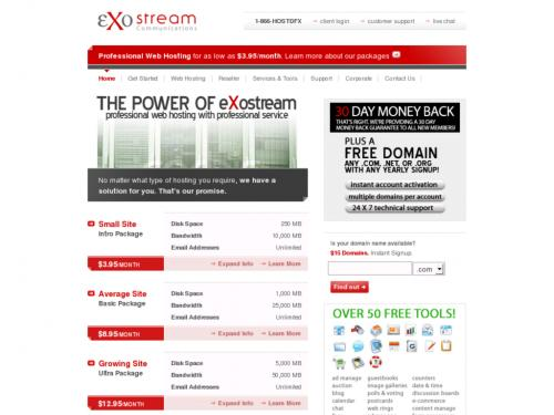 eXostream Communications