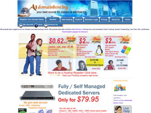 A1 Domain Hosting